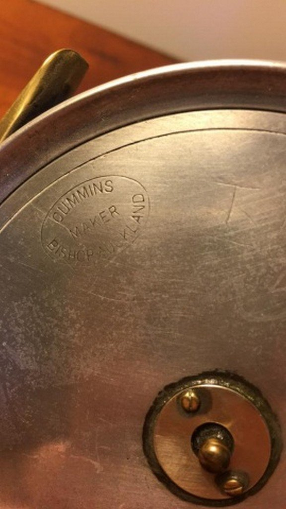 "Antique ""Cummings"" Fly Reel 4 1/2"""