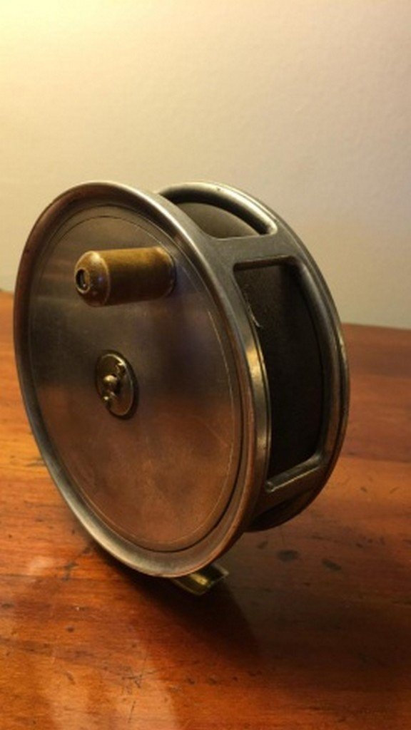 "Antique ""Cummings"" Fly Reel 4 1/2"" - 2"