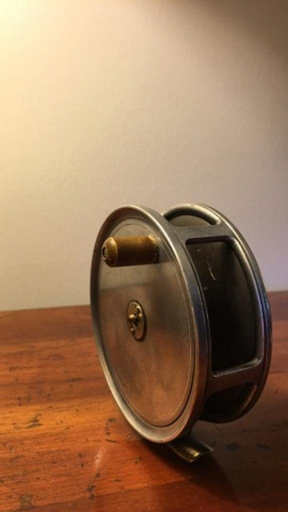 "Antique ""Cummings"" Fly Reel 4 1/2"" - 5"