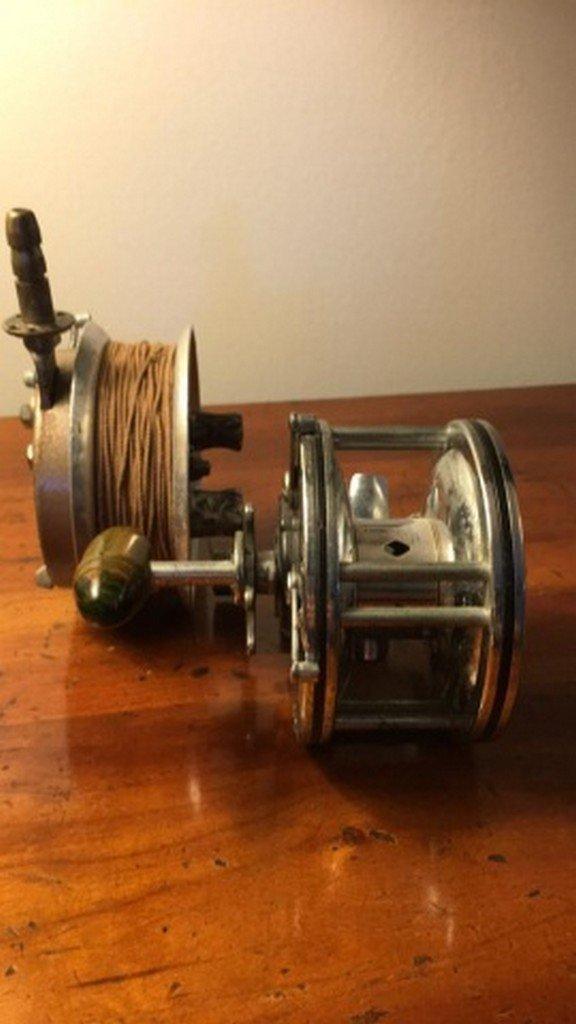 Lot of 2 Antique Reels - 5