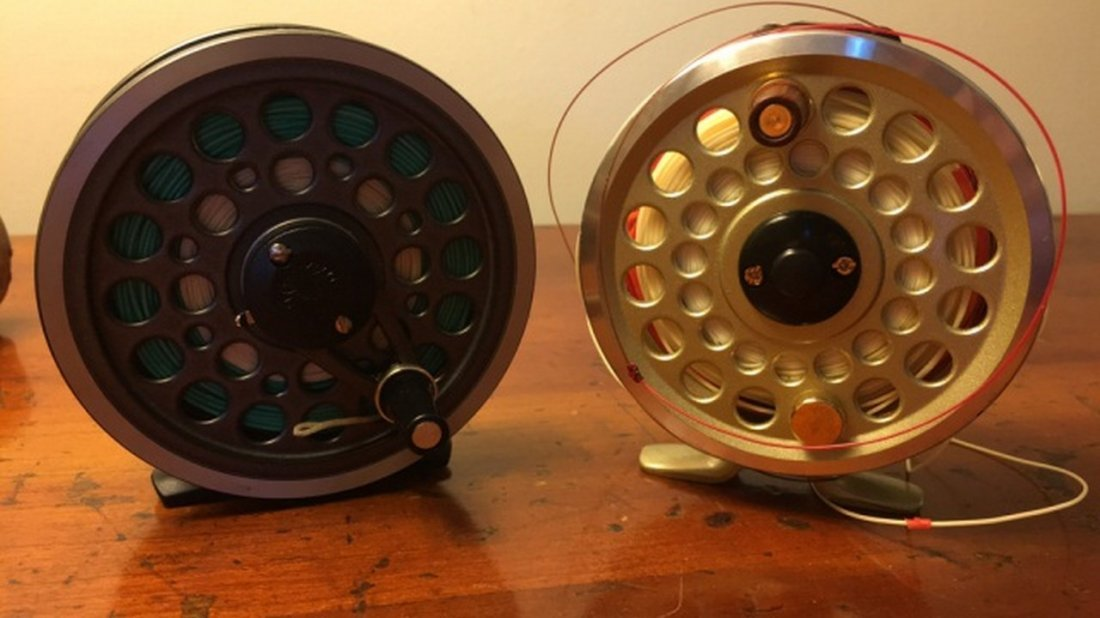 Lot of 2 Fly Reels