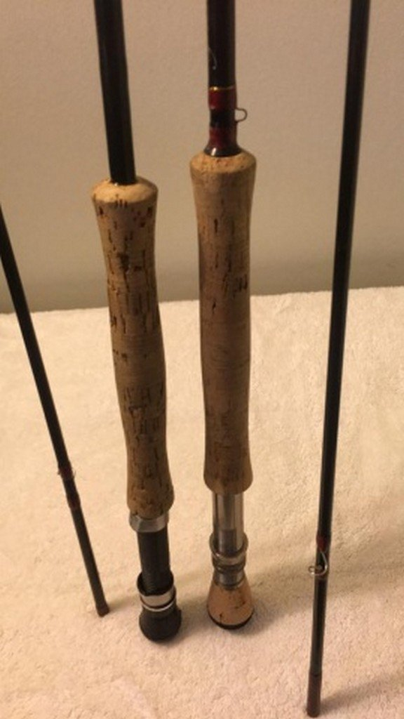 Lot of 2 Pfleuger Trion Fly Rods - 2