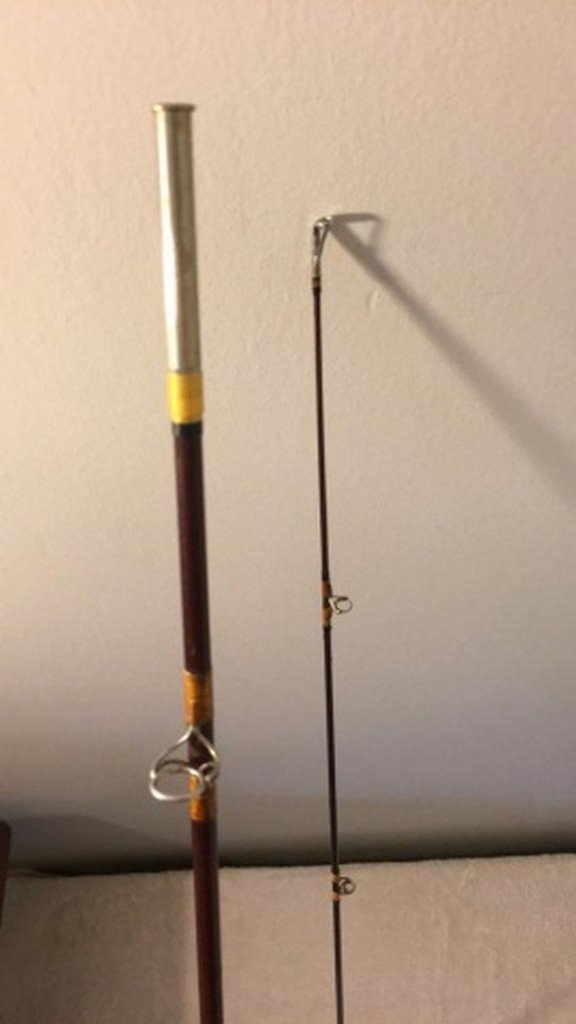 "Antique Bamboo 86"" Fly Rod - 3"