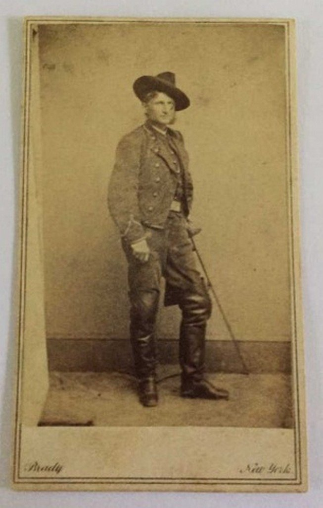 Antique Civil War Photograph by Brady Sub. Unknown