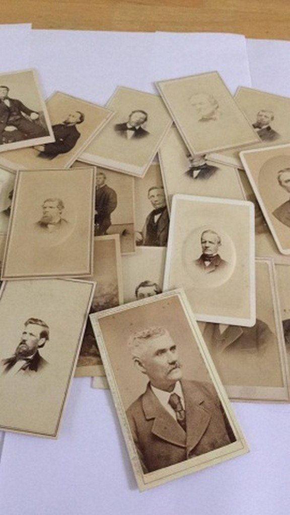 Lot of 27+ Antique Mostly CDV Photographs of Men - 4