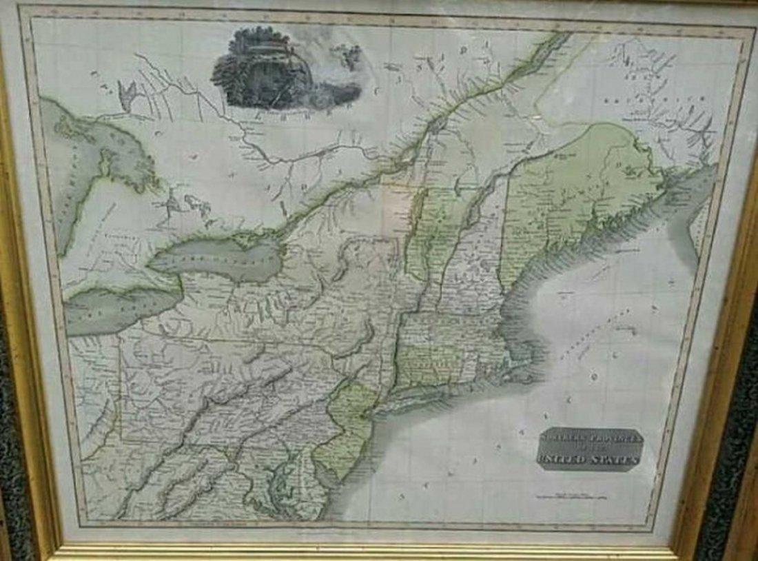 Antique Map United States Thomson's 1817