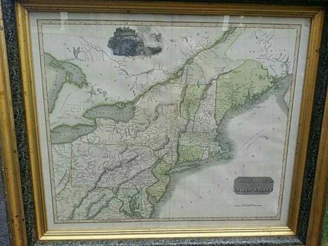 Antique Map United States Thomson's 1817 - 2