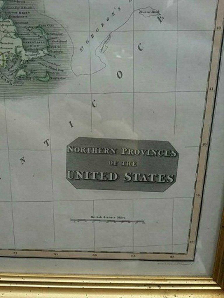Antique Map United States Thomson's 1817 - 4