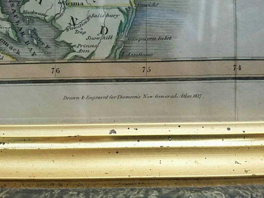 Antique Map United States Thomson's 1817 - 5