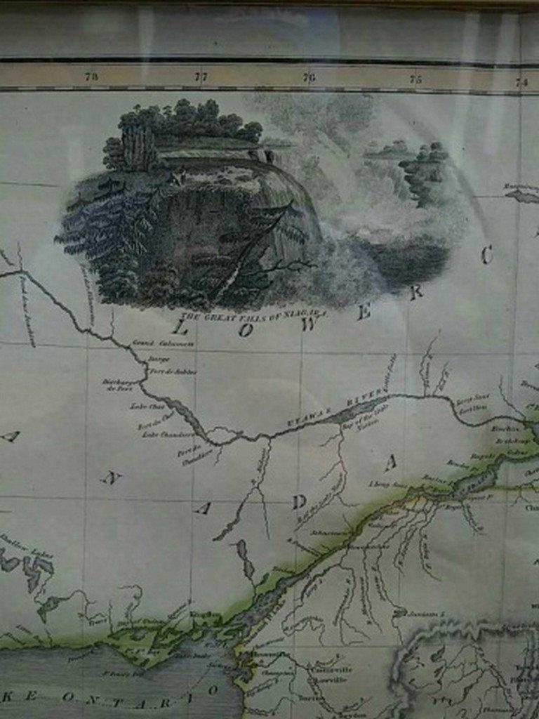Antique Map United States Thomson's 1817 - 7