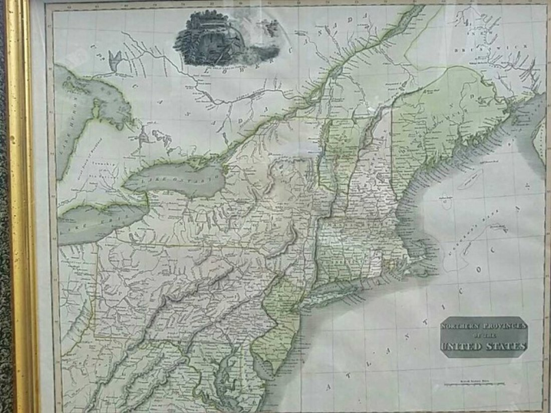 Antique Map United States Thomson's 1817 - 8