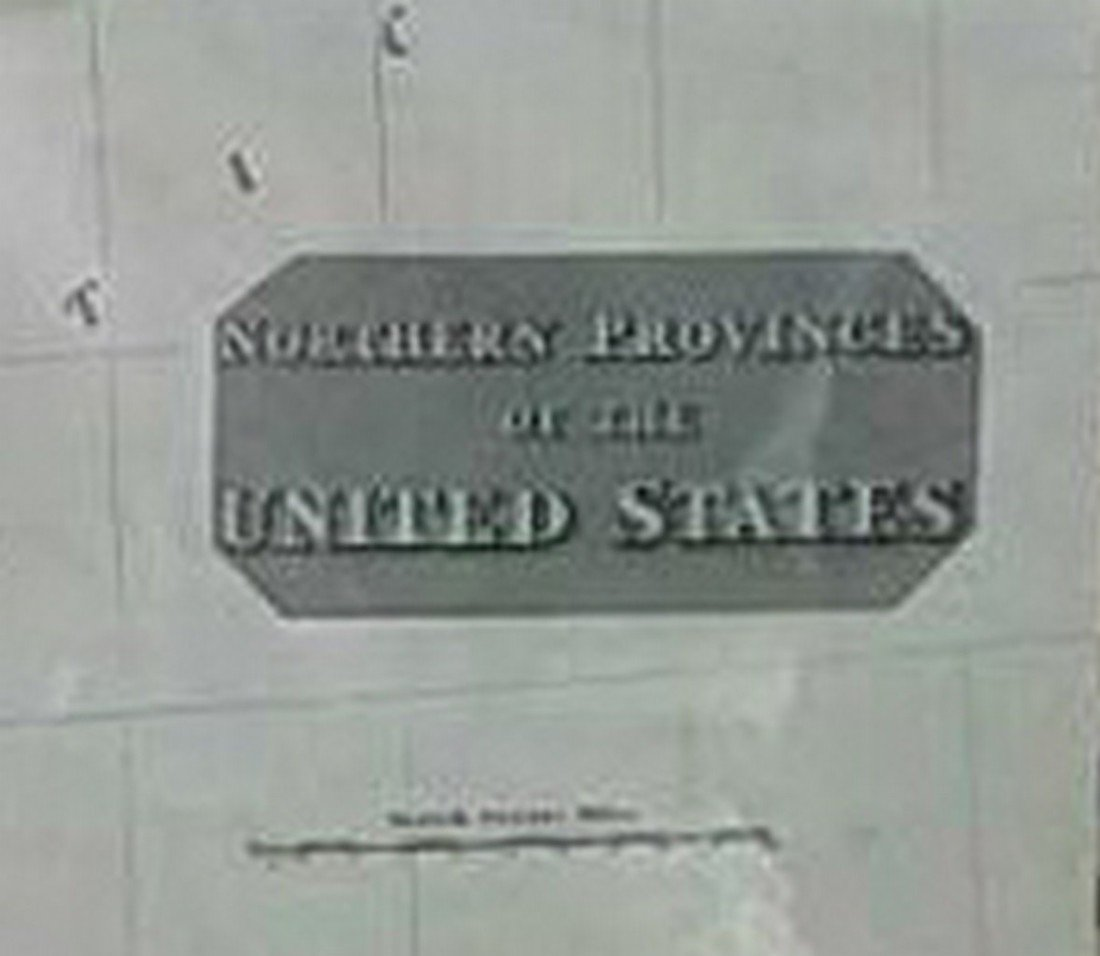 Antique Map United States Thomson's 1817 - 9