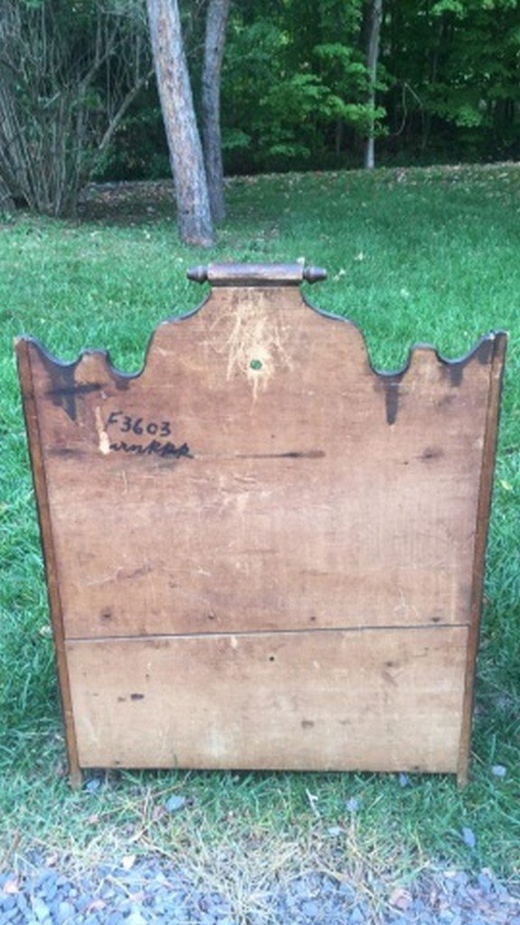 Antique Miniature Open Top Cupboard - 4