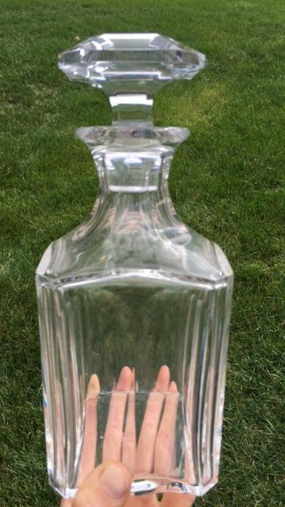 Antique/Vintage Baccarat Cut Glass Decanter