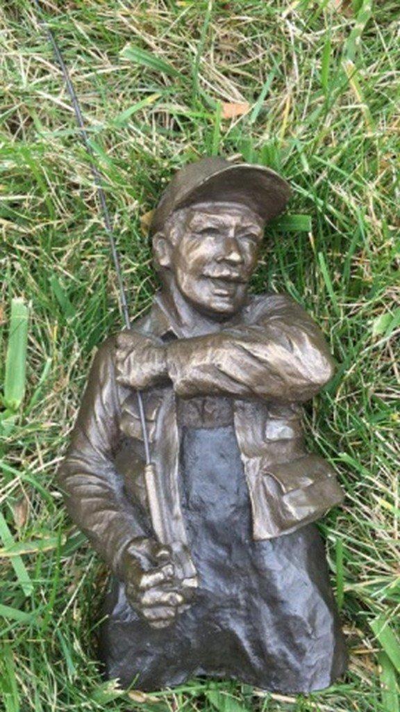 """Mark Hopkins"" Limited Edition Bronze Sculpture"