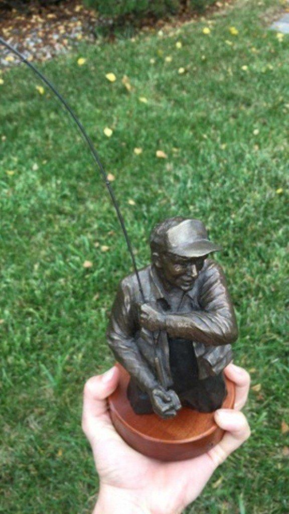 """Mark Hopkins"" Limited Edition Bronze Sculpture - 2"