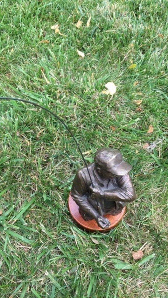 """Mark Hopkins"" Limited Edition Bronze Sculpture - 4"