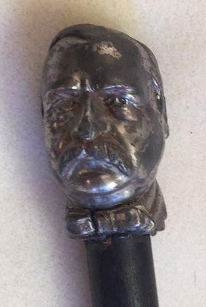 Antique Grover Cleveland Cane/Walking Stick