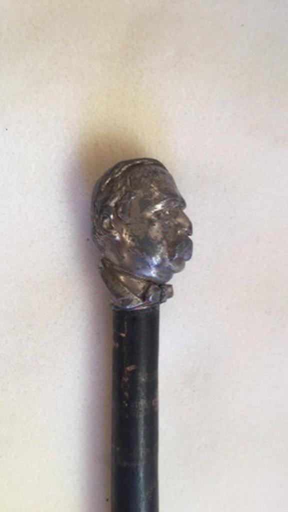 Antique Grover Cleveland Cane/Walking Stick - 3