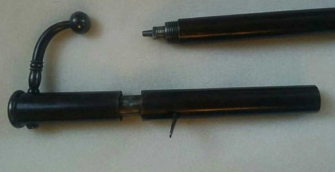 Antique Gun Cane - 3