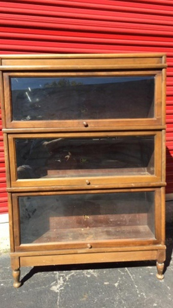Antique Maple Barrister's Bookcase