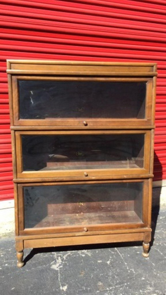 Antique Maple Barrister's Bookcase - 2