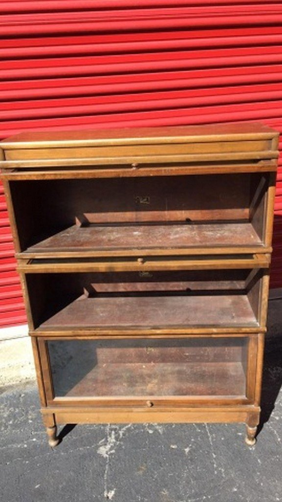 Antique Maple Barrister's Bookcase - 5