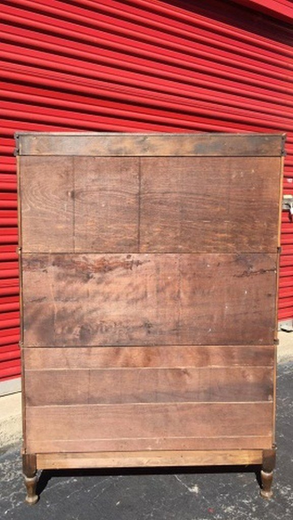Antique Maple Barrister's Bookcase - 6