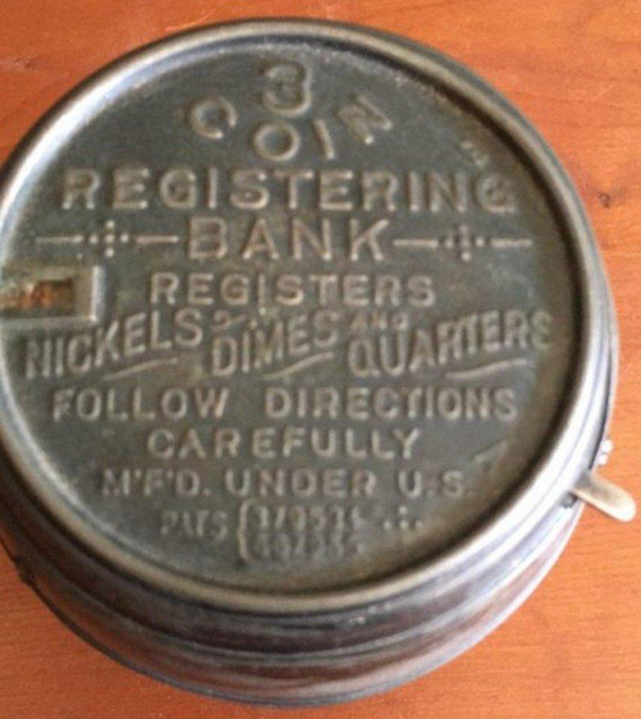 Antique Barrel Form Registering Bank - 4