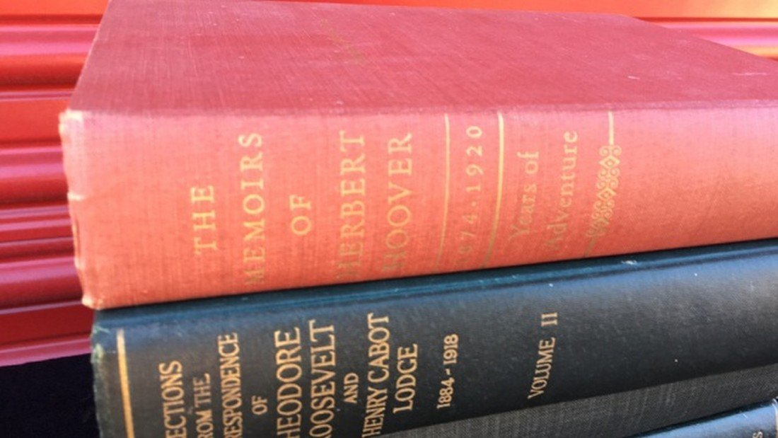 Lot of 4 Books Regarding Roosevelt & Hover - 2