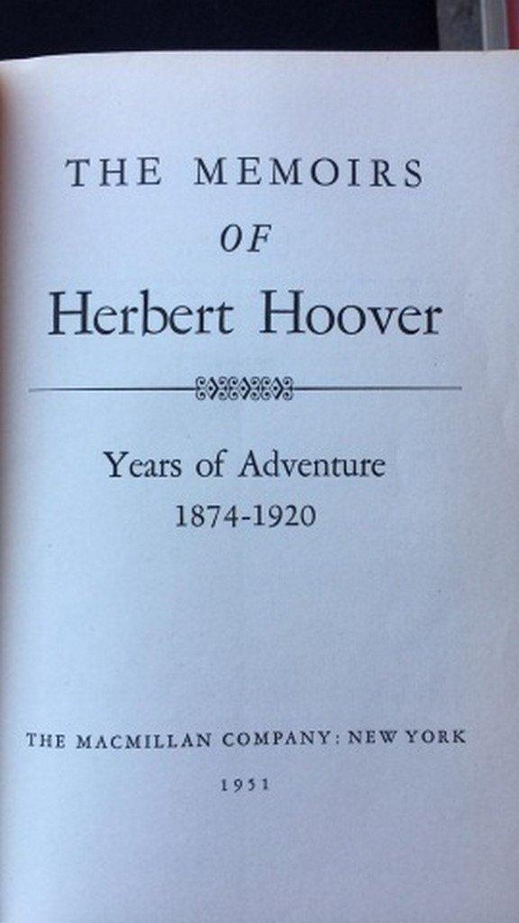 Lot of 4 Books Regarding Roosevelt & Hover - 4