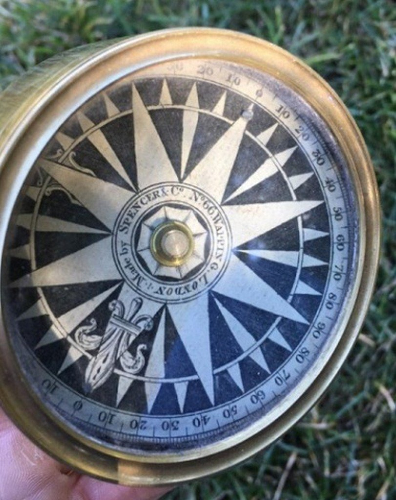 "Antique/Vintage ""Spencer & Co."" Compass"