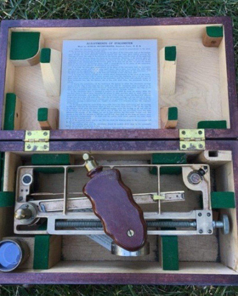 Antique/Vintage U.S. Navy Standimeter