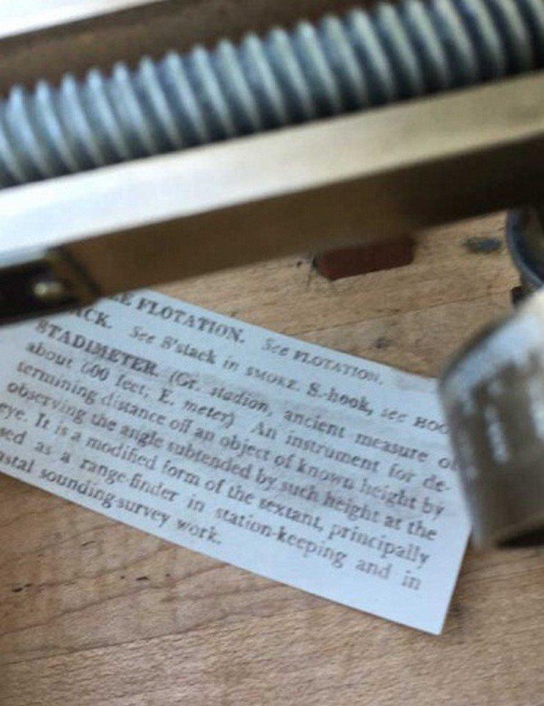 Antique/Vintage U.S. Navy Standimeter - 3