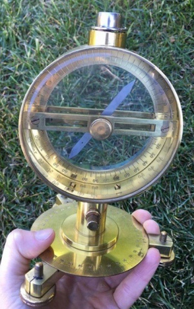 Ant. Philip Harris Ltd. Brass Vertical Compass