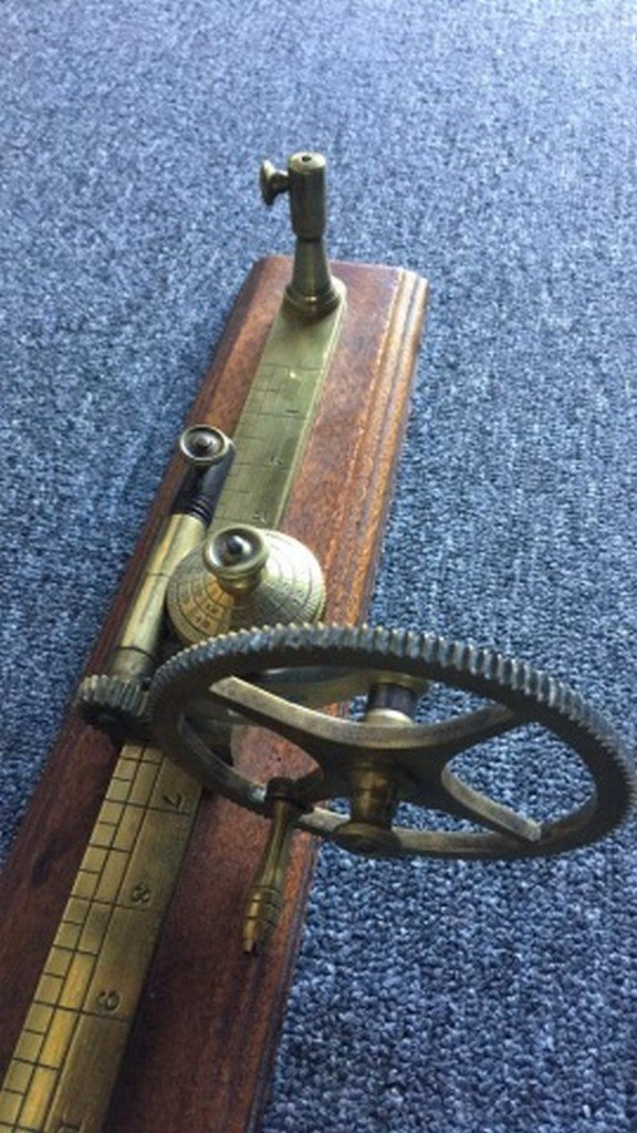 Antique Brass Tensile Strength Testing Device - 3