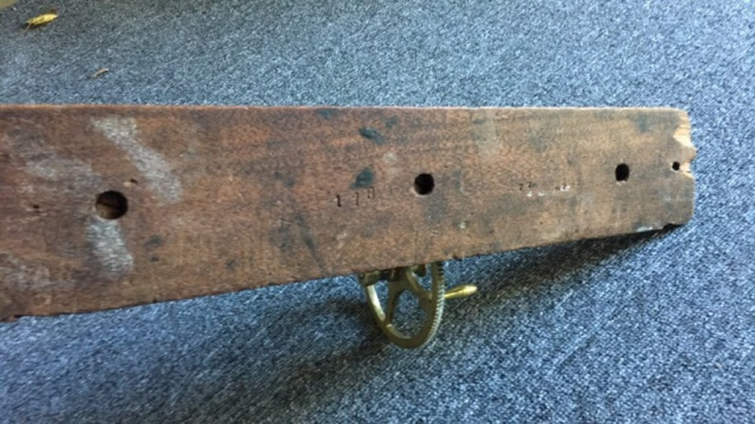 Antique Brass Tensile Strength Testing Device - 5