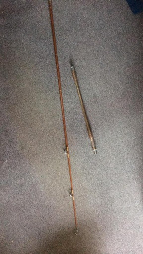 Antique Bamboo Surf-Rod Maker Unknown