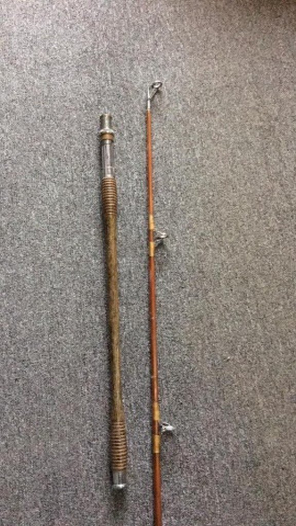 Antique Bamboo Surf-Rod Maker Unknown - 2