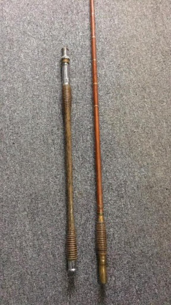 Antique Bamboo Surf-Rod Maker Unknown - 3