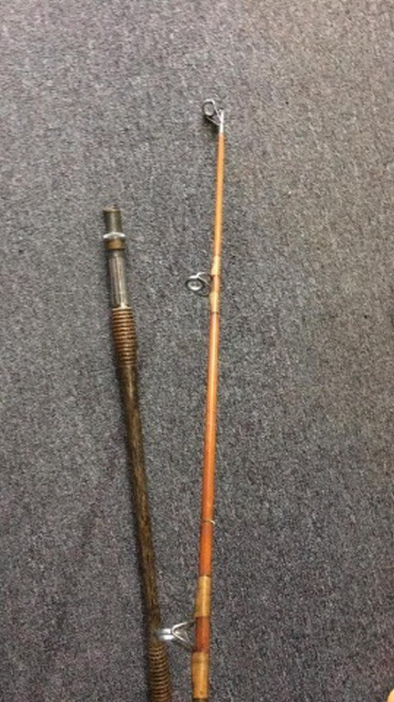Antique Bamboo Surf-Rod Maker Unknown - 5