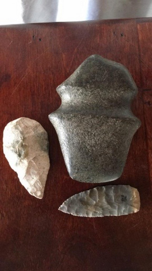 Lot of 3 Stone Relics