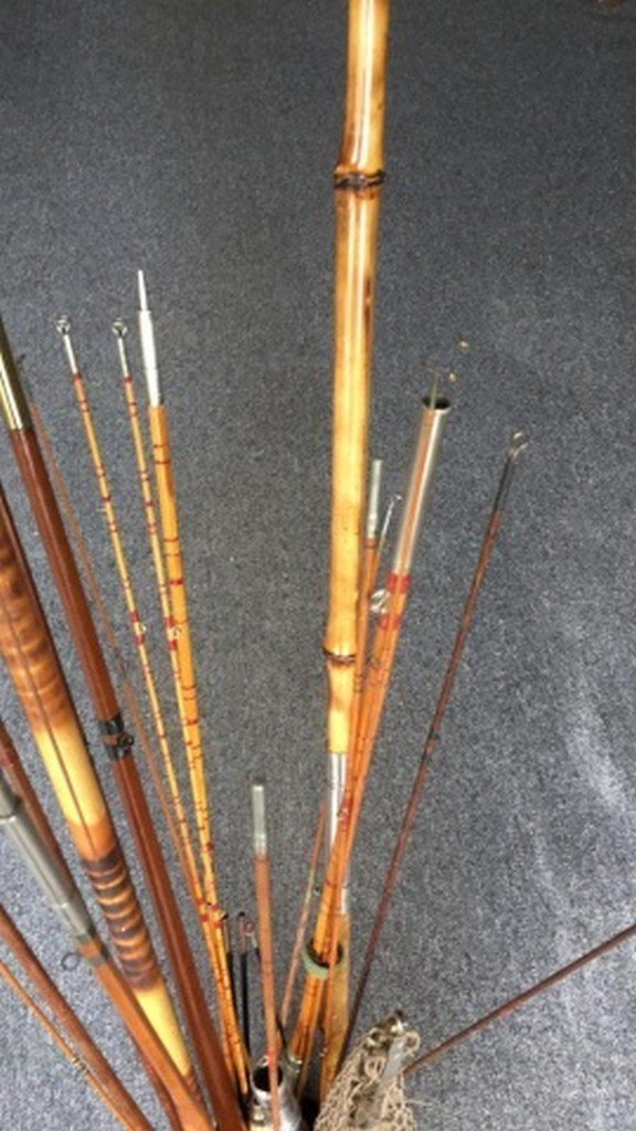 20+ Miscellaneous Antique Fishing Rod Pieces - 3