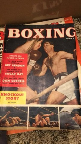 2 Boxes of a couple of Hundred Boxing Magazines - 3