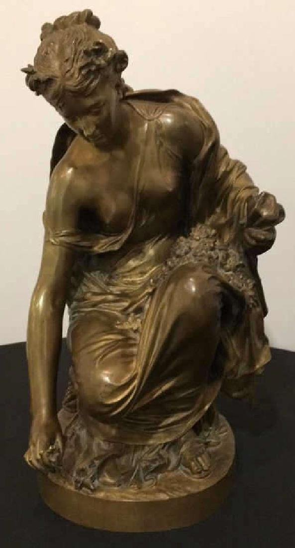 """H Chapu"" Signed Antique French Bronze"