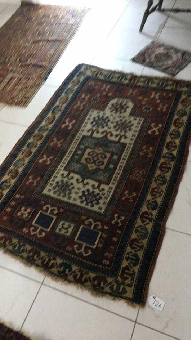 Antique Persian Prayer Carpet