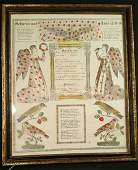 Antique Pennsylvania Folk Art Fraktur