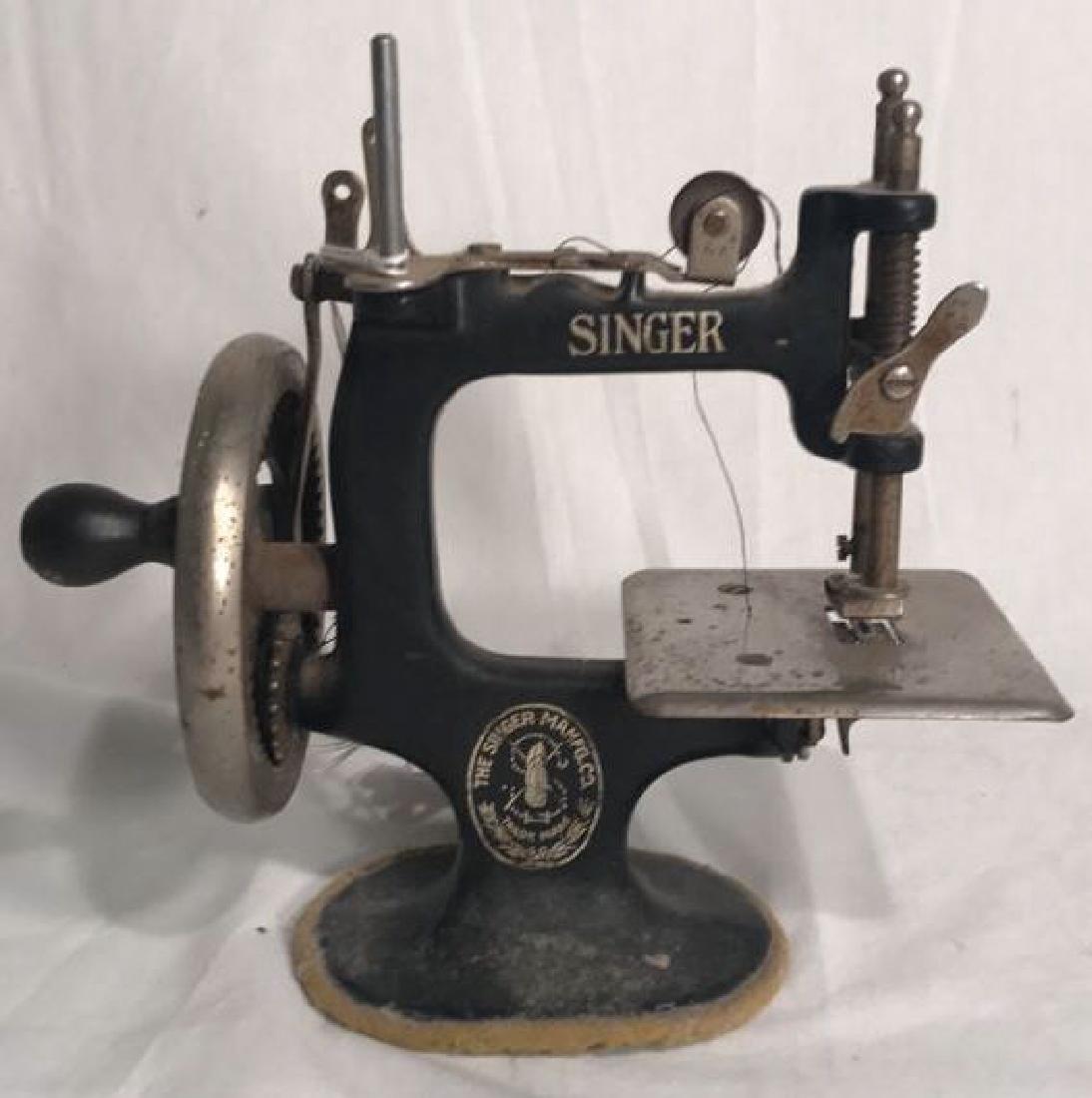 Antique Singer Toy Sewing Machine