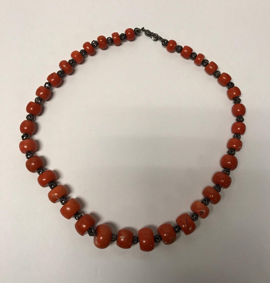 Corral necklace.