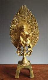 Northern Wei Bronze Buddha,Christie's.